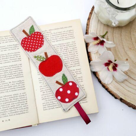 almás könyvjelző