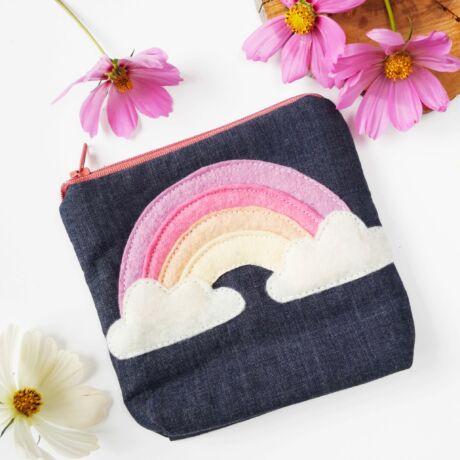farmer pénztárca szivárvány mintával