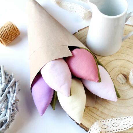 Tulipán csokor-5szál